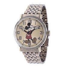 disney men s watches for jewelry watches jcpenney disney mens mickey mouse stainless steel bracelet watch