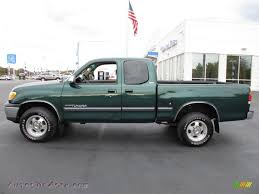 2002 Toyota Tundra SR5 Access Cab in Imperial Jade Green Mica ...