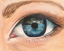 realistic eye fully guided acrylic painting tutorial on canvas for beginners step by step real