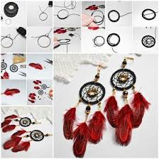 Dream Catcher Earings Fascinating DIY Dream Catcher Earrings