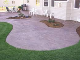 plain concrete patio. Curved Concrete Patio, Palm Desert, CA, 92260 Plain Patio
