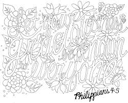Bible Verse Coloring Pages For Adults Scripture Pdf Breathtaking