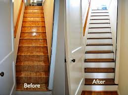 how to make your own carpet stair treads