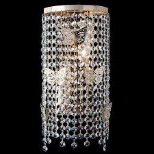 <b>Настенный светильник Eurosvet</b> 10015/2 золото/прозрачный ...