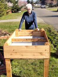 how to build a raised garden bed with legs. Comfy How To Build A Raised Garden Bed With Legs B64d On Nice Interior Design For D