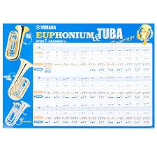 Tuba Chart Yamaha Tuba Euphonium Fingering Chart