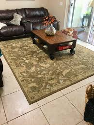 pottery barn 8x10 hand tufted wool rug in darby mocha retail 899 for in land o lakes fl offerup