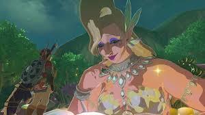 Great Fairy Cotera Botw Legend Of Zelda Breath Breath Of