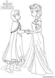 Coloriage Princesse Disney La Reine Des Neiges
