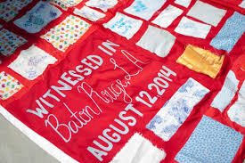 Baton Rouge Hosts The Monument Quilt | WRKF & Patches from the Monument Quilt Adamdwight.com