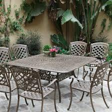 best cast aluminum patio dining sets
