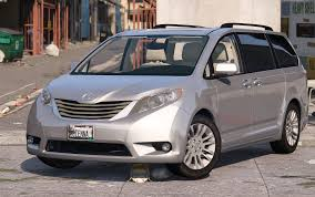 2017 Toyota Sienna XLE Premium 1.0 (Replace/Add-On) - GTA5-Mods.com