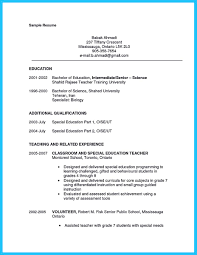 Parts Of A Resume There are several parts of assistant teacher resume to concern 27