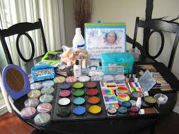 face painting supplies pictures