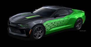 2016 Chevy Camaro Krypton Concept At SEMA | GM Authority