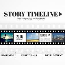 Film Template For Photos Story Timeline Prezi Template Prezibase