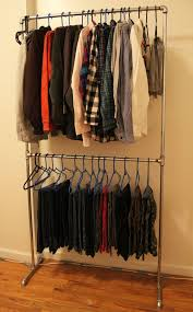 pipe clothing rack. Brilliant Pipe DIY Pipe Clothing Rack On C