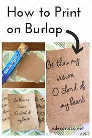 Burlap Crafts Best 20 Burlap Crafts Ideas On Pinterest Burlap Decorations