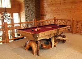 cabin furniture ideas. image of pool table rustic lodge furniture cabin ideas e
