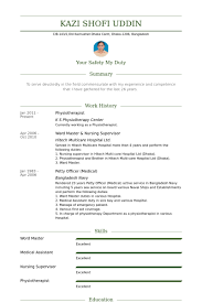 Physiotherapist Resume Example Cover Letter And Resume Pinterest