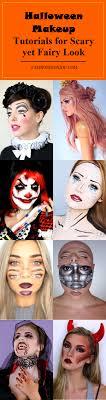 halloween makeup tutorials for scary yet fairy look