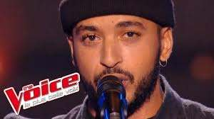 Vitaa – A Fleur de Toi | Slimane Nebchi | The Voice France 2016 | Blind ...  | The voice, Musique francaise, Emission de television