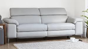 62 leather reclining sofa image