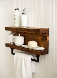 dog faces ceramic bathroom accessories shabby chic: bathroom shelf with towel bar metal hooks modern rustic decor wall hanging cottage shabby chic industrial reclaimed salvaged by