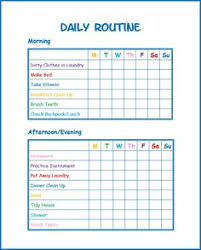Daily Routine Chart For 9 Year Old 27 Best Child Chore Chart Images Chores For Kids Chore