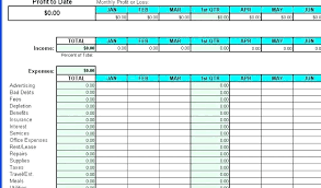 Income And Expense Form Template Arianet Co
