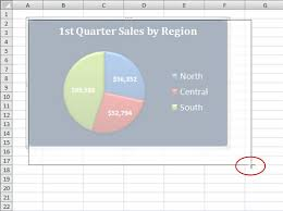 To Resize An Embedded Chart Moving And Resizing An Embedded Excel 2007 Chart Dummies