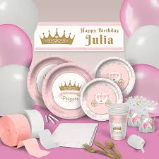 Pink Provincial Princess Ultimate Pack Birthday Party Supplies, Theme Packs