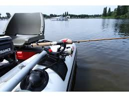 rod holder for fishing boats