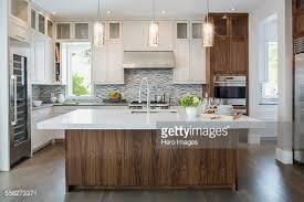 modern kitchen pendant lights remodel. Pendant Lights Over Modern White Kitchen Island Stock Photo Inside For Remodel 18 D