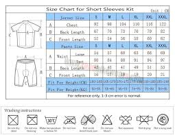 Cycling Jersey Size Chart 2016 Team Audi Castelli Summer Winter Biking Outfit Cycle Jersey Maillot And Padded Shorts Pants Roupas Bicicleta Black