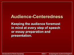 introduction to public speaking analyzing the audience chapter  introduction to public speaking slide 3 analyzing the audience chapter 5