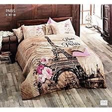 Amazon.com: Springtime in Paris, Twin size Duvet Cover Bedding Set ... & 100% Turkish Cotton 3pcs Paris Eiffel Tower Theme Single Twin Size Duvet  Quilt Cover Set Adamdwight.com