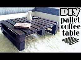 diy pallet coffee table no power