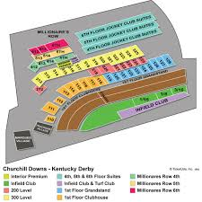 Belmont Stakes Clubhouse Seating Chart 2020 Kentucky Derby Tickets Churchill Downs
