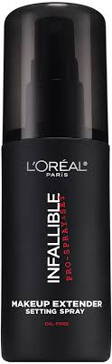 l oreal paris infallible pro spray and set makeup extender setting spray