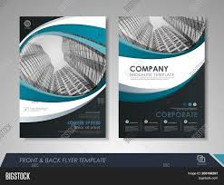 Company Catalog Design Templates Modern Blue Brochure Vector Photo Free Trial Bigstock