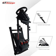 En outre, le thrustmaster ferrari 458 spider xbox s'adapte à vos caractéristiques physiques. Amazon Com Gt Omega Steering Wheel Stand For Thrustmaster Tx Racing Wheel Ferrari 458 Italia Pedals Set Xbox One Pc Compact Foldable Tilt Adjustable To Ultimate Gaming Console Experience Video Games
