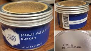 produce importer initiates dukkah recall for potential risk of glass pieces