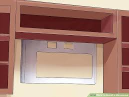 in wall microwaves image titled install a microwave step 3 microwaves built in wall units