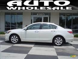 2008 White Diamond Pearl Honda Accord EX-L V6 Sedan #12962402 ...