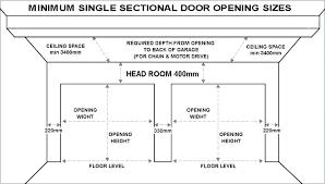 standard garage dimensions 2 car standard 2 car garage size or standard double car garage door