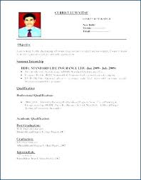 Standard Resume Format Unique Fresher Teacher Resume Sample Download Resumes Samples Format