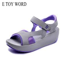 <b>E TOY WORD Women'S</b> Sandals Casual Mesh Breathable Shoes ...