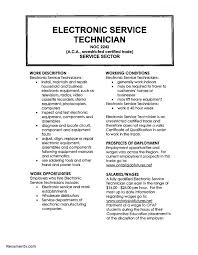 Sample Resume For Electronics Technician Electronics Engineer Sample Resume Electronic Technician Resume