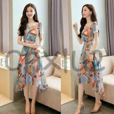 <b>Korean Fashion</b> Polyester Casual Dresses for <b>Women</b> for sale | eBay